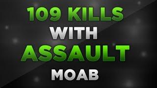 MW3: 109 Kills w/ BEAST Assault MOAB! (Modern Warfare 3 Gameplay/Commentary)