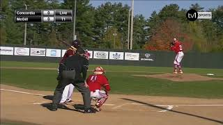 Concordia Stingers vs McGill Redmen CCBA 2017 National Baseball Championships