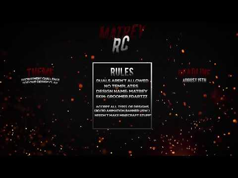 Matrey RC (Recruitment Challenge for the Designer Clan)