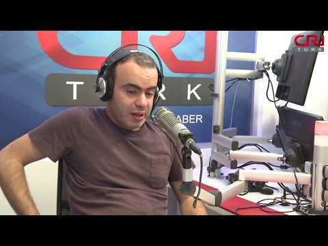 Yazar Onur Caymaz CRI TÜRK'te (Kasım 2017)