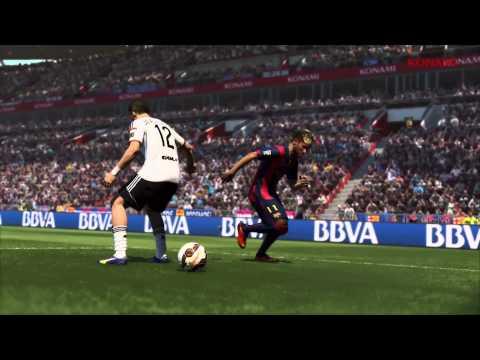 Pro Evolution Soccer 2015 Demo Announcement Trailer
