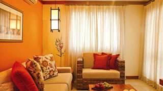 видео Оранжевые стены в интерьере, с чем сочетать оранжевый цвет?