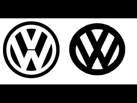 vw logo amazing evidence for shifting realities. mandela effect