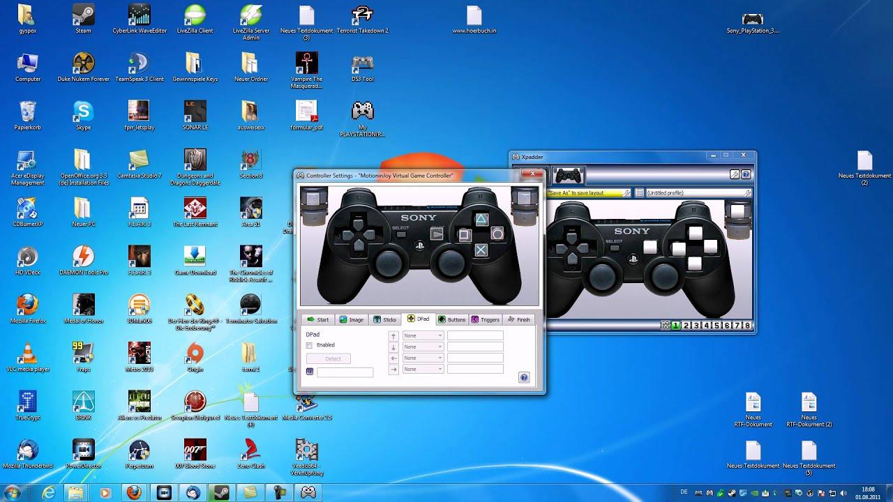 Minecraft Mit Einem Playstation Oder Xbox Controller Spielen - Minecraft ps3 auf pc spielen