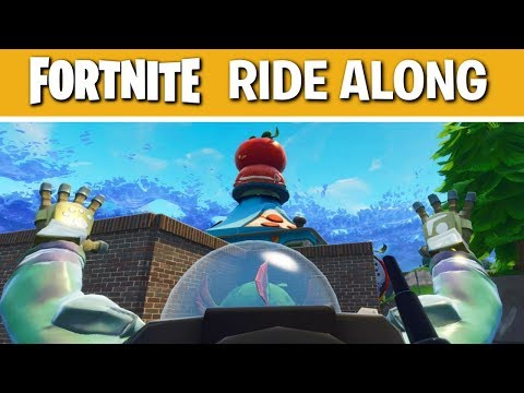 Fortnite Battle Royale Solo Tips and Tricks | Week of Tomato Town #3  | Ride Along