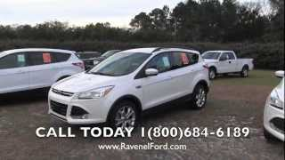 2013 Ford Escape Sel Review Video * Power Liftgate * Blis * $98 Over Invoice @ Ravenel Ford