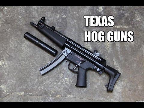 5 Best Texas Hog Guns