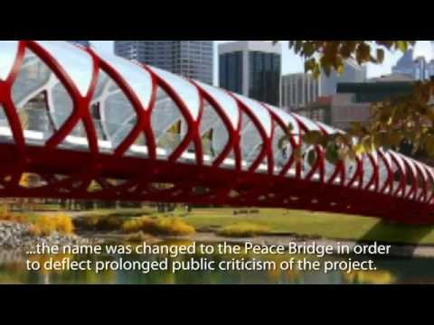 PROFILE: The Peace Bridge in Calgary, Alberta