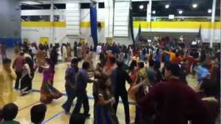 University of Michigan Dearborn Garba (Navratri 2012) Part: 4