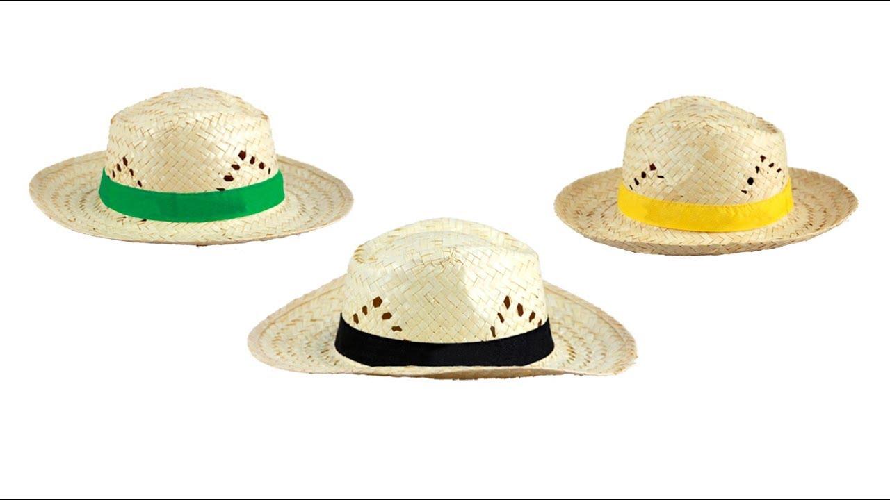 🎁 Sombreros personalizados 5 - Sombrero Lúa - YouTube 9dbac46af31