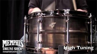 Joyful Noise 14 x 6.5 TKO Tailpipe Brass Snare Drum