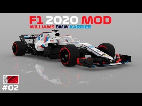 ÚJ KIHÍVÁS 🏁 F1 2020 MOD Williams BMW KARRIER ☀️☁️ BahreinGP ⭐️ 2