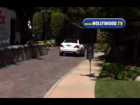 Britney Spears Car Crash
