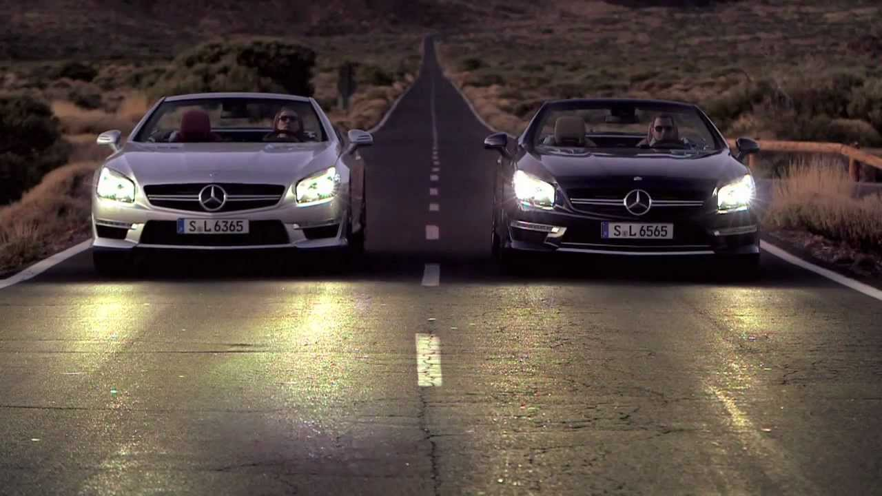 Sl63 Amg Versus Sl65 Amg Mercedes Benz Roadsters Youtube