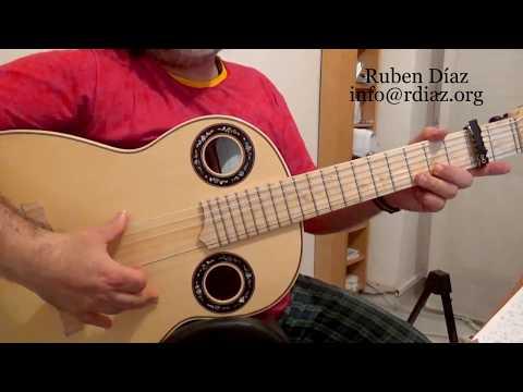 Learn Almoraima (2) falseta 1 by Paco de Lucia (beginners 3) Flamenco guitar lesson by Ruben Diaz