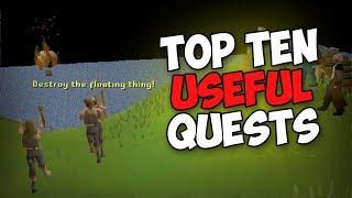OSRS Top Ten Useful Quests