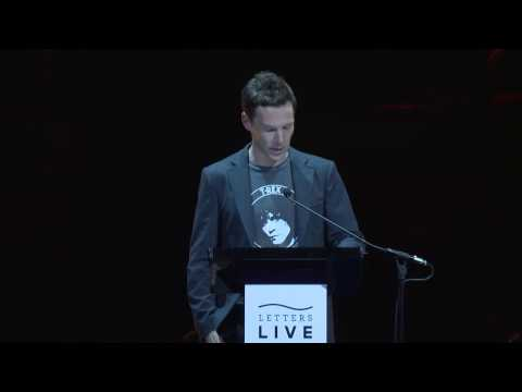 Benedict Cumberbatch reads I embrace you with all my heart by Albert Camus