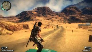 Just Cause 2 Demo Gameplay w/ Text Commentary 1