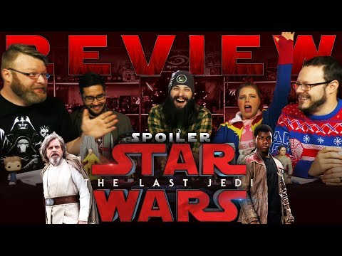 """""""Star Wars: The Last Jedi"""" SPOILER Movie REVIEW and DISCUSSION!!"""