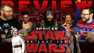 """Star Wars: The Last Jedi"" SPOILER Movie REVIEW and DISCUSSION!!"