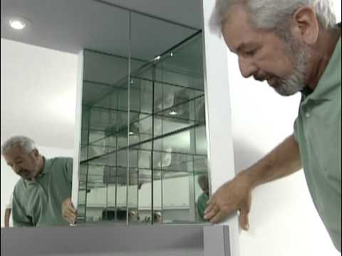 Custom Kitchen Cabinets and Glass Shower Tile - Miami Condo Makeover - Bob Vila eps.2804