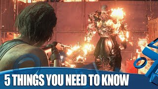 Resident Evil 3 PS4 Gameplay - 5 Things You Need To Know