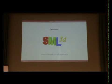 ML Family 2014: SML3d: 3D Graphics for Standard ML (Demo)