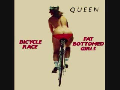 Fat bottomed girls anal