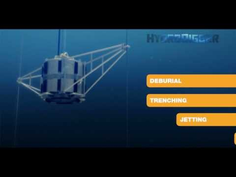 James Fisher Offshore's mass flow excavation tool - HydroDigger