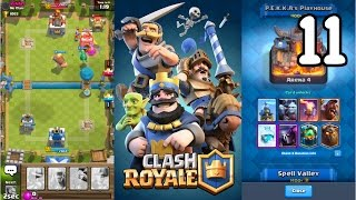 Clash Royale - REACHING ARENA 4!