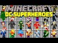 Minecraft DC SUPERHEROES MOD! | THE FLASH, ARROW, SUPERMAN, BATMAN, & MORE! | Modded Mini-Game