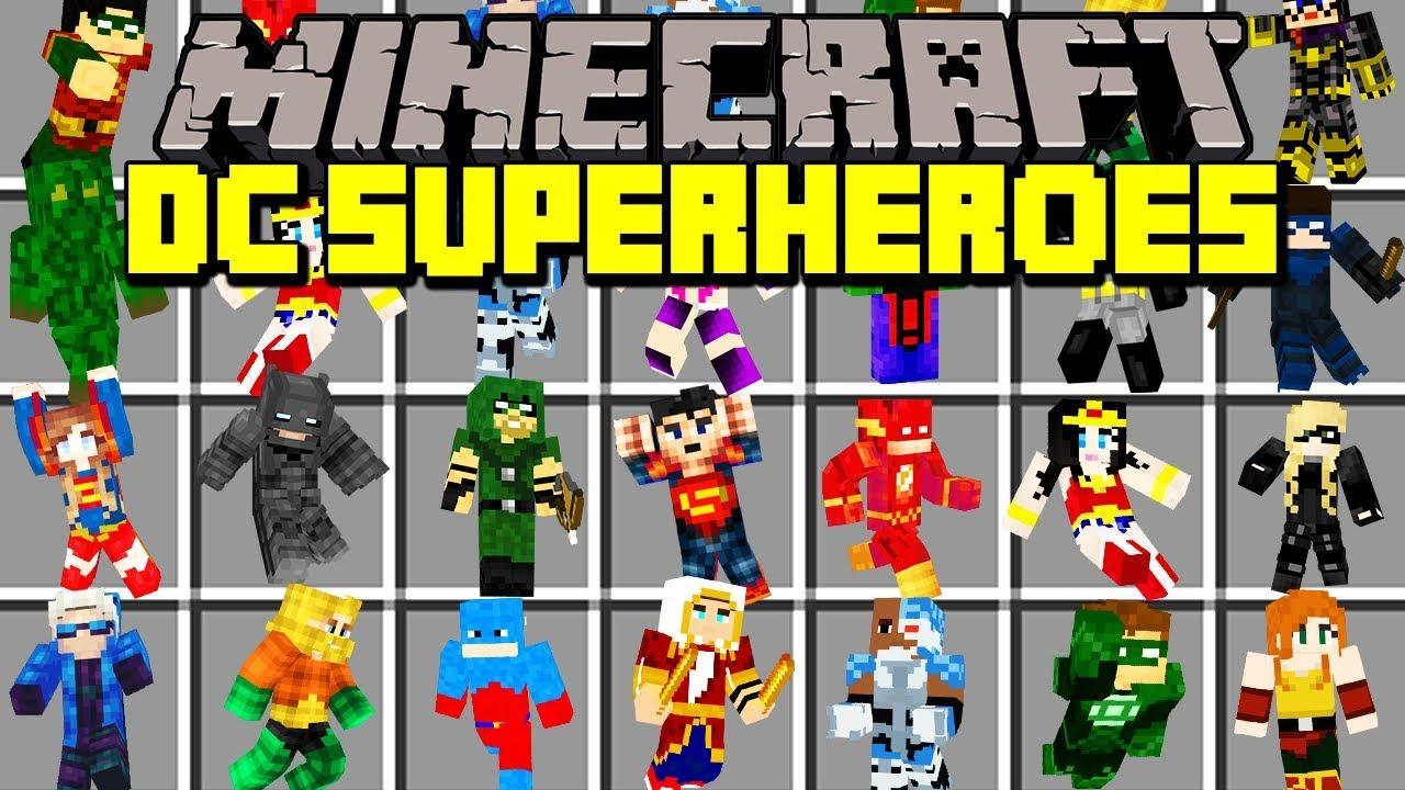 видео как скачать майнкрафт мод супермена #11