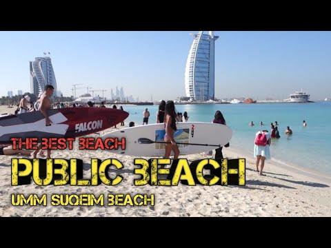 #sunsetbeach #publicbeach Umm suqeim Beach 2019 near Burj AL Arab