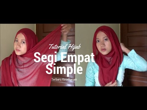 Tutorial HIjab Paris Segi Empat Simple | Sehari-hari #NMY Hijab Tutorials