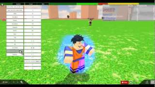 Roblox Dragon Ball Sparking Meteor