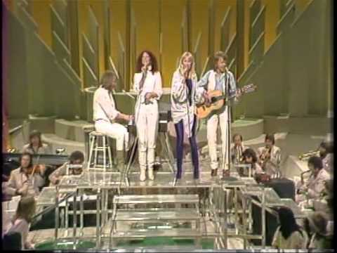 Olivia Newton-John with Abba and Andy Gibb