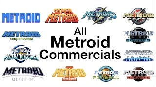 All US Metroid Commercials (1986-2017)