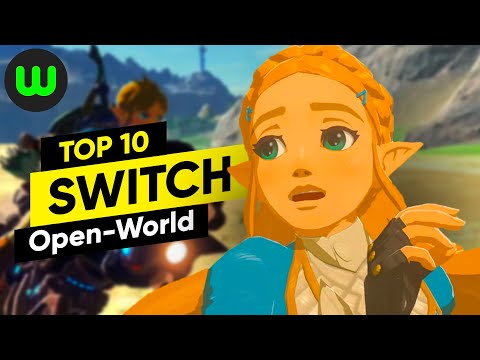 Top 10 Switch Open World Games | Whatoplay