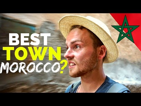 BEST town for TRAVEL in MOROCCO المغرب
