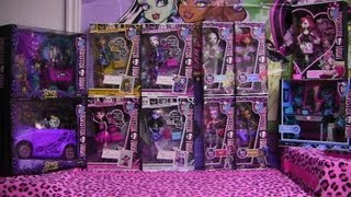 Monster High Haul #5 Scaris Picture Day Dance Class & Cupid!!!!!!! :D