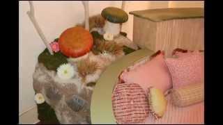 Сказочный дизайн детской комнаты для девочки