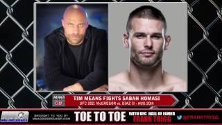 UFC 202's Tim Means: 'Sabah Homasi has knocked out guys who are out of shape'
