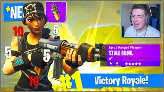 """*NEW* """"FINAL FIGHT LTM"""" GAME MODE in Fortnite Battle Royale (*NEW* """"STINK BOMB"""" Gameplay UPDATE!)"""