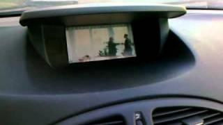Využití LCD Renault Laguna od navi přes RGB převodník + zpětná kamerka