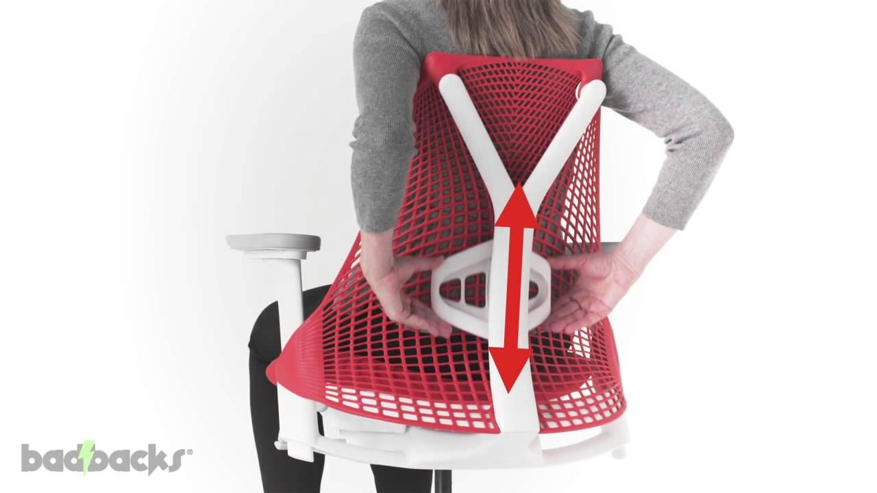 Herman Miller Sayl Chair Adjusting Guide YouTube - Sayl chair