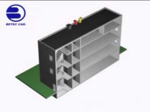 BETEC CAD Engineered Fire & Smoke Management System