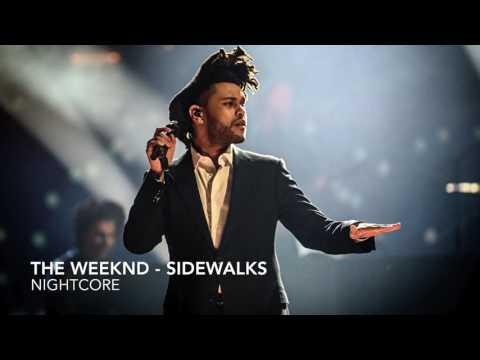 The weeknd - Sidewalks (acoustic) Nightcore