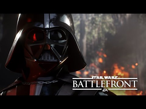 DARTH VADER Y LUKE   Star Wars Battlefront Gameplay