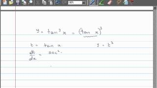 Download Video Differentiation - 11 Powers of Trig functions e.g. [Sin(x)]^3 MP3 3GP MP4
