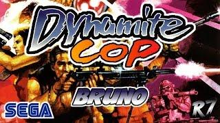 Dynamite Cop | Arcade | Longplay | Bruno | HD 720p 60FPS